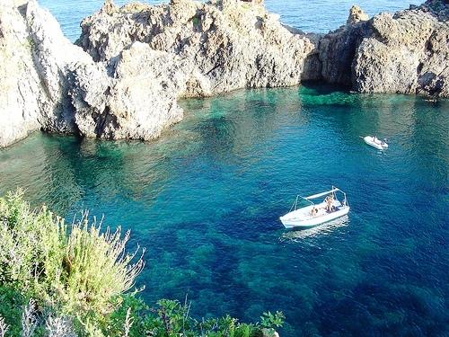 Visita dal mare dell'Isola di Panarea