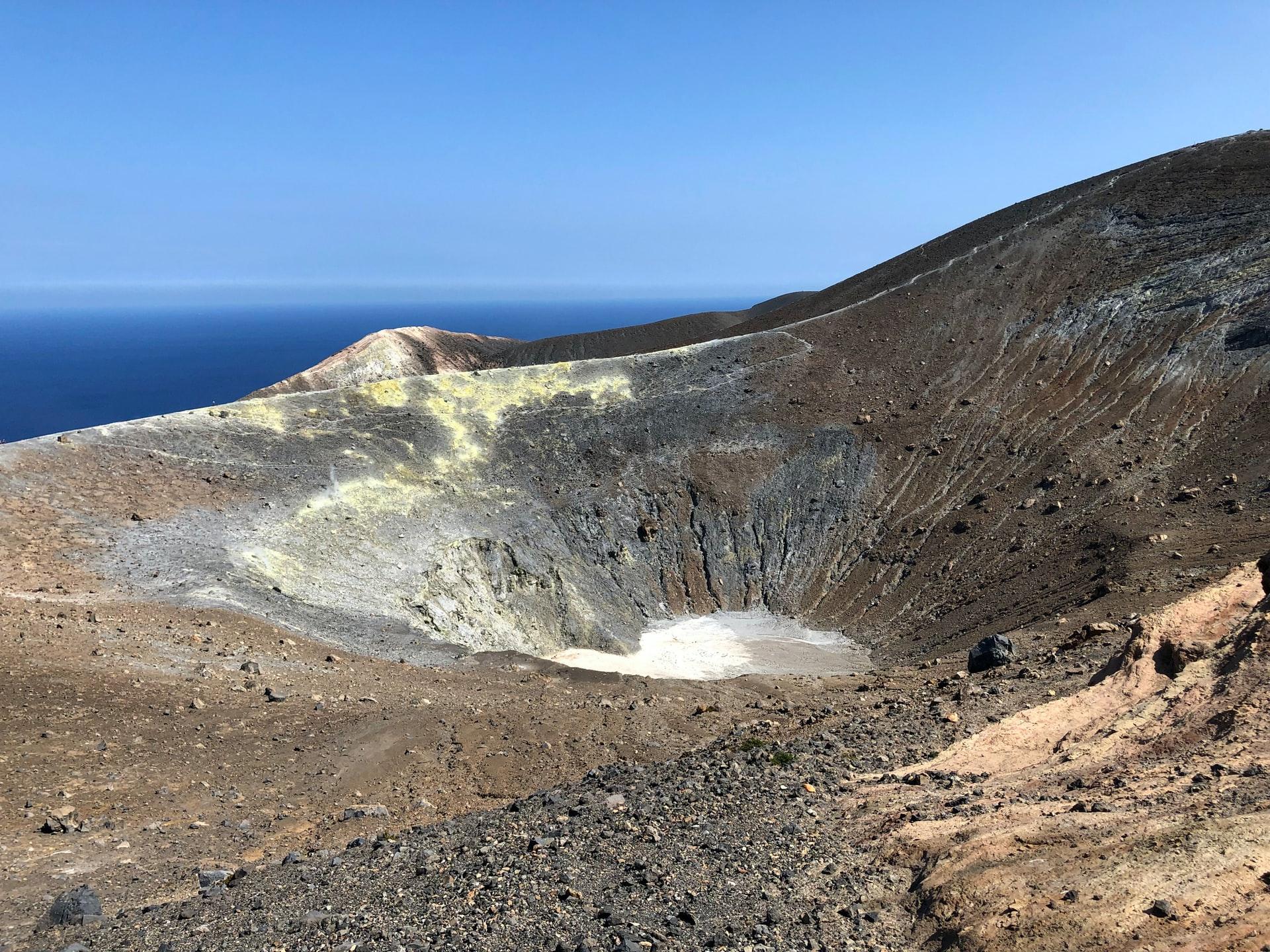 Scalata del Gran Cratere di Vulcano