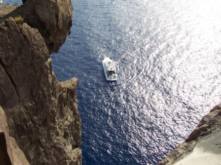 2° Giorno: Tour in barca di Stromboli by day