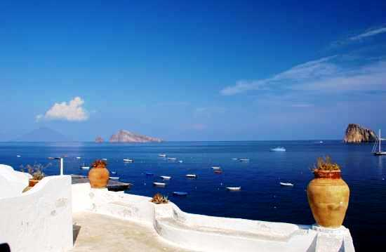 Visita a terra dell'Isola di Panarea