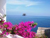 Vista de Strombolicchio, Islas Eolias