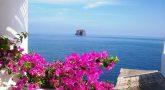 Vue de Strombolicchio, Iles Eoliennes