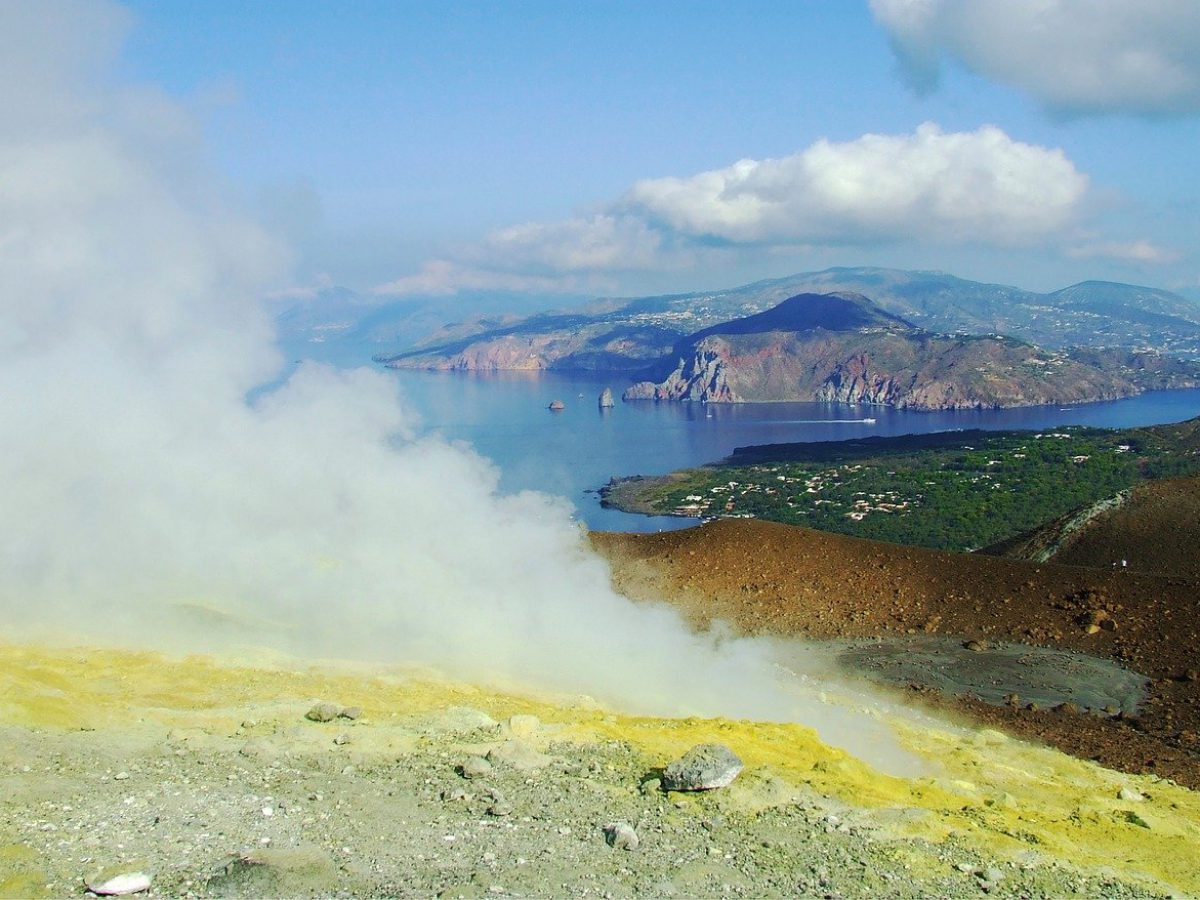 Excursion from Milazzo to Vulcano. The Great Crater of Vulcano
